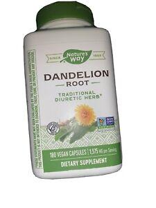 Dandelion 180 Vegicaps  by Nature's Way