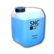 CLEANER Sgrassante 5 LITRI - BLU ricostruzione unghie Gel UV Germany Kit SNC