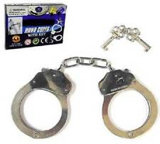 Metal handcuffs hand cuffs with two keys