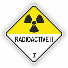 Radioactive II #02 Sticker Radiation Symbol Laptop Door Truck Car Motorcycle