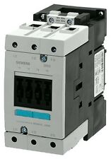 Siemens 3RT1044-1AC20 65 AMP 3 pole contactor with a 24 volt AC coil.
