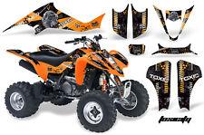 ATV Decal Graphic Kit Wrap For Suzuki LTZ400 Kawasaki KFX400 2003-2008 TOXIC O K
