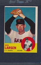 1963 Topps #163 Don Larsen Giants VG/EX *671
