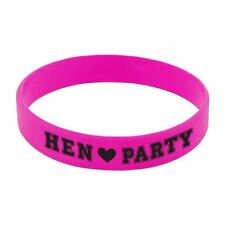 Hen Party - Rubber Bracelets Girls Night Out Bachelorette Accessories