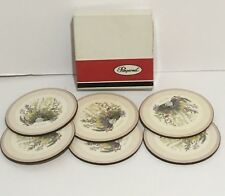 Pimpernel  Coasters - Garden Herbs - De-Luxe Finish - Boxed set of 6