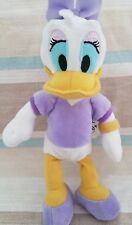 """Daisy Duck Mickey Mouse soft toy 8"""" plush n"""