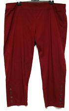 plus sz XL / 24 TS TAKING SHAPE 'Beat Button Pants' stretch black comfy NWT!