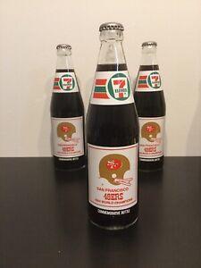 San Francisco 49ers 1984 World Champions Super Bowl XIX Coke Bottle Unopened