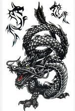 Special Dragon Pattern Removable Waterproof Temporary Tattoo Body Art Sticker SN