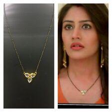 FTME33, Latest Bollywood Celebrity Anika Mangalsutra Kundan with Chain