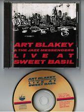 ART BLAKEY & JAZZ MESSENGERS Live at Sweet Basil JAPAN 24k GOLD CD K25Y-9503