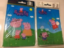 Peppa Pig Passport Case Cover Protector Travel Wallet Pouch Ticket Organizer