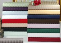 1000 TC Egyptian Cotton Bedding Items Sheet Set/DuvetSet/Fitted/Pillow All Color