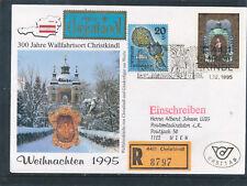 Christkindl-Reco-Brief 1.12.1995, LZ Wien, Ersttag  (CH1)