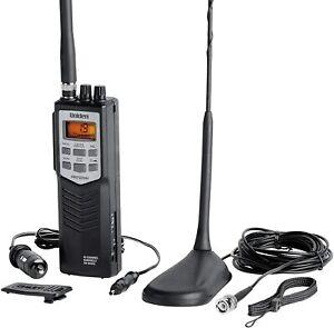 UNIDEN PRO501TK EMERGENCY 40CH CB HANDHELD WALKIE-TALKIE RADIO KIT + CAR ANTENNA
