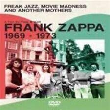 NEW Frank Zappa - Freak Jazz Movie Madness & Another Mothers (DVD)