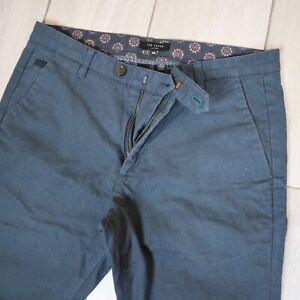 Ted Baker Chino Trouser Newyor Blue W32 L30
