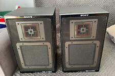 Sony Speaker System Model SS-A-750 Black Pair