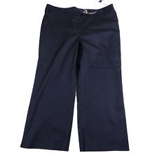 NWT Jones Wear Studio Blue Chain Latched Button Capri Women's Size 18