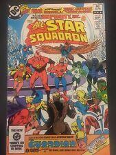 All-Star Squadron #25 DC Comics 1983    1st Infinity Inc  VFN+  B&B KEY ISSUE