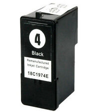 Non-OEM Replace No 4 For Lexmark Z2390 Black Ink Cartridge