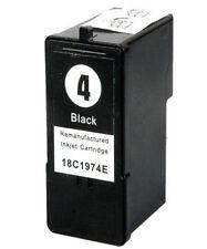 NO OEM Recambio N º 4 para Lexmark x3690 Cartucho de Tinta Negra