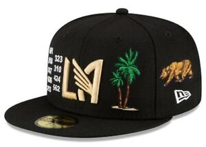 MLS Local Icon LAFC Los Angeles Football Club New Era 59FIFTY Fitted Hat