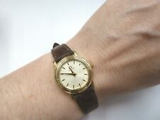 Omega De Ville Prestige 18ct Gold Ladies Watch 1999