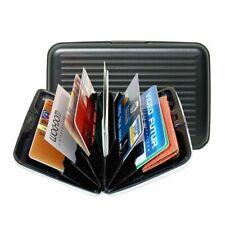 RFID Blocking Credit Card Protector Aluminum ID Case Hard Shell Metal Wallet