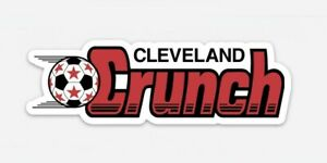 Cleveland CRUNCH MAGNET - Vintage Nostalgia Minor League Soccer Old School