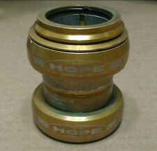 "Hope Headset Gold 1 1/8 """