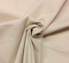 """NATURAL HEAVY FLANNEL 100% COTTON DRAPERY CRAFT LINING BACKING FABRIC BTY 54""""W"""
