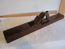 "Antique Vintage 28"" Honduras Mahogany Razee Shipwrights Tool Woodworking Plane"