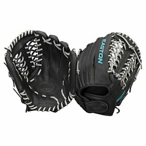 """Easton Core Fastpitch Series FP1200BKGY RHT 12"""" Infield/Pitcher Pattern"""
