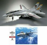 Hasegawa PT46 F-14A TOMCAT US Navy Carrier Borne Aircraft 1/48 Scale Kit