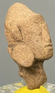 Fine Ancient Indonesia Majapahit terracotta head ca. 13th to 15th century AD Y