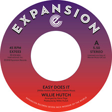 JUST IN! WILLIE HUTCH - Easy Does It / Kelly Green  on EXPANSION (EX7033)