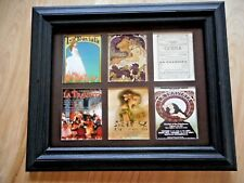 La Traviata - 6 Miniature Opera Posters $24.99 (in a mat only) $47 - framed
