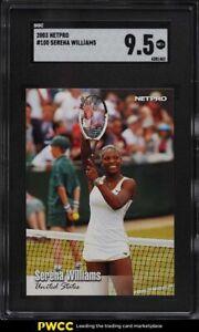 2003 Netpro Tennis Serena Williams ROOKIE RC #100 SGC 9.5 MINT+
