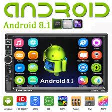 "DOPPEL DIN ANDROID 8.1 AUTORADIO MIT GPS NAVIGATION QUAD CORE BLUETOOTH 2DIN 7"""