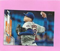 2020 Topps 582 Montgomery Club Foil Stamp #580 Dellin Betances New York Mets