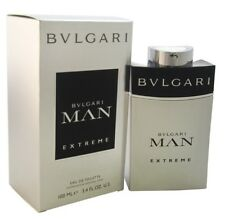 Bvlgari Man Extreme by Bvlgari EDT Cologne for Men 3.4 oz Brand New In Box