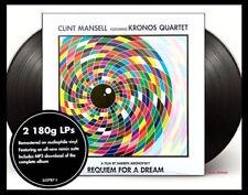 Clint Mansell/Kronos Quartet Requiem For A Dream 2xLp Soundtrack New Sealed 180
