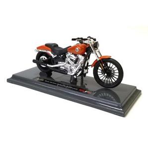 Maisto Modèle Réduit de Moto Miniature Harley Davidson 2016 BREAKOUT 1/18 Orange