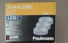 LED Paulmann 3er Set mit Leuchtmittel Star Line Zylindro 99472 Sternenhimmel usw