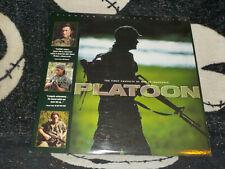 Platoon Pioneer SE Widescreen Laserdisc Oliver Stone Charlie Sheen Free Ship $30