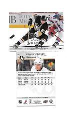 2008-09 Upper Deck # 42 Sidney Crosby Card 2 card lot (B23) Pittsburgh Penguins