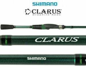 Shimano Clarus 6'6 Medium Light Fast 2-Piece Spinning Rod CSS66ML2E In Stock