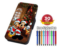 Micky & Minnie Merry Christmas! Flip Phone Case Cover for iPhone Samsung Huawei