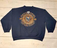 2000 New York Yankees World Series Champs Transit Authority Subway Sweatshirt 2X
